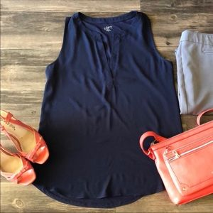 💎 Loft Sleeveless Blouse